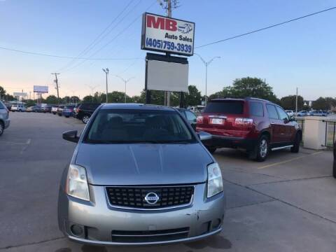 2008 Nissan Sentra for sale at MB Auto Sales in Oklahoma City OK