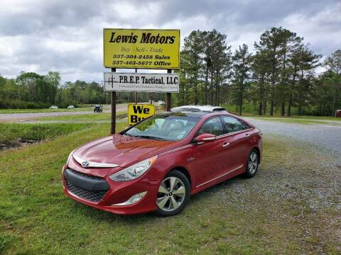 2011 Hyundai Sonata Hybrid for sale at Lewis Motors LLC in Deridder LA