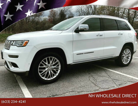 2017 Jeep Grand Cherokee for sale at NH WHOLESALE DIRECT in Derry NH