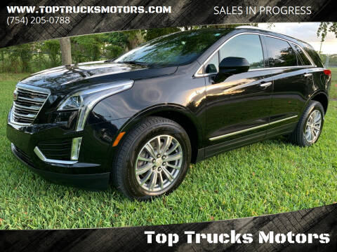 2018 Cadillac XT5 for sale at Top Trucks Motors in Pompano Beach FL