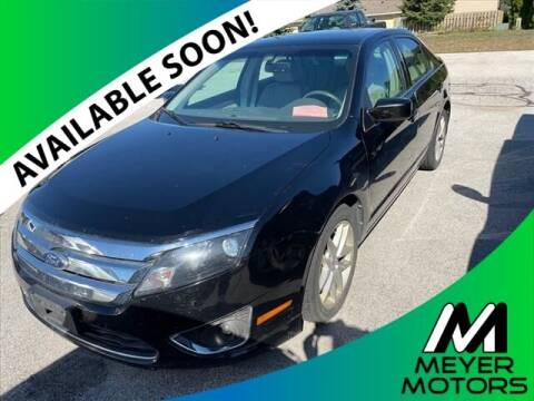 2012 Ford Fusion for sale at Meyer Motors in Plymouth WI