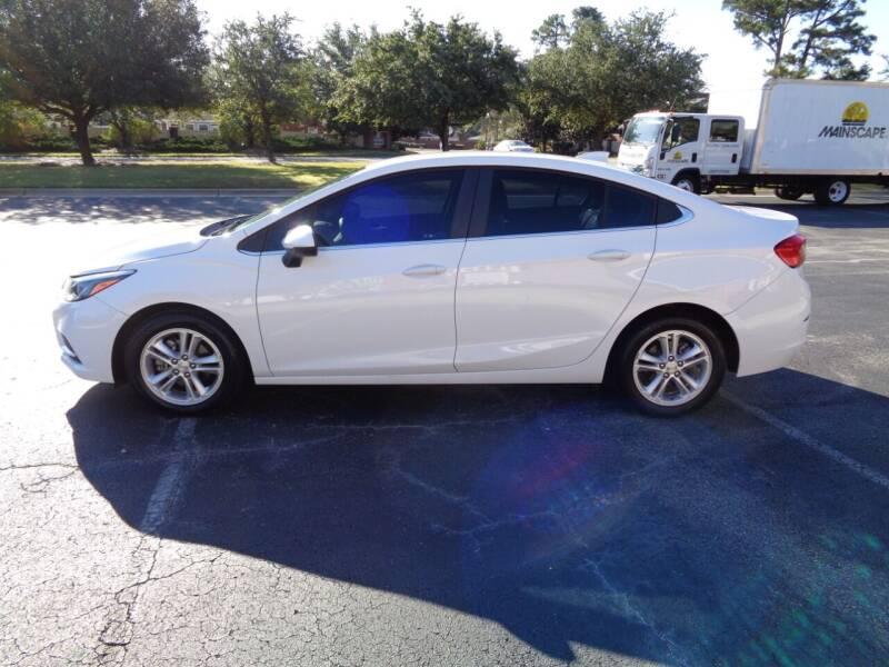 2018 Chevrolet Cruze for sale at BALKCUM AUTO INC in Wilmington NC