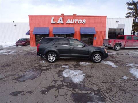 2005 Cadillac SRX for sale at L A AUTOS in Omaha NE