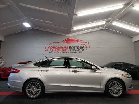 2016 Ford Fusion for sale at Premium Motors in Villa Park IL