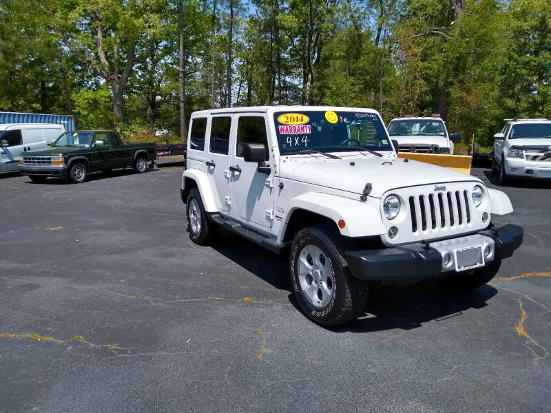 2014 Jeep Wrangler Unlimited for sale at James River Motorsports Inc. in Chester VA