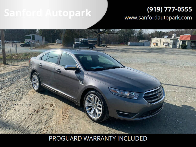 2014 Ford Taurus for sale at Sanford Autopark in Sanford NC