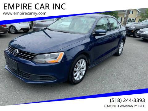 2012 Volkswagen Jetta for sale at EMPIRE CAR INC in Troy NY