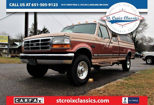 1995 Ford F-250 for sale at St. Croix Classics in Lakeland MN
