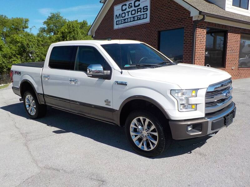 2016 Ford F-150 for sale at C & C MOTORS in Chattanooga TN