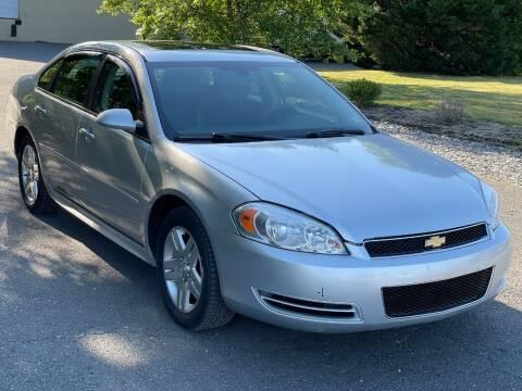 2012 Chevrolet Impala for sale at ECONO AUTO INC in Spotsylvania VA