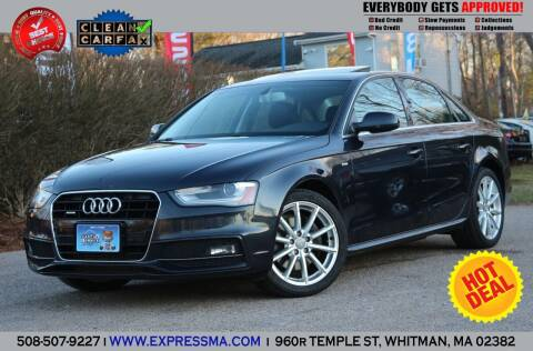 2015 Audi A4 for sale at Auto Sales Express in Whitman MA
