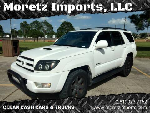 2005 Toyota 4Runner for sale at Moretz Imports, LLC in Spring TX