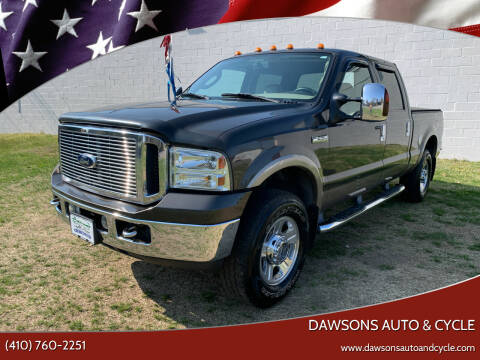2006 Ford F-250 Super Duty for sale at Dawsons Auto & Cycle in Glen Burnie MD