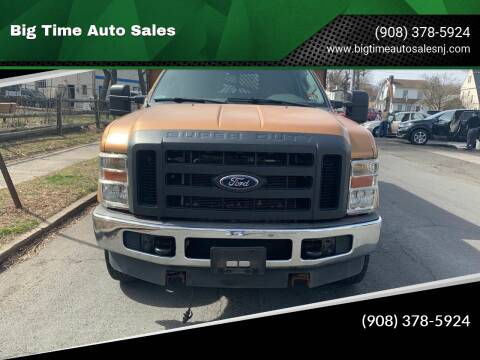 2008 Ford F-350 Super Duty for sale at Big Time Auto Sales in Vauxhall NJ
