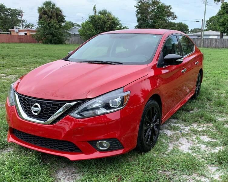 2017 Nissan Sentra for sale at FINE AUTO XCHANGE in Oakland Park FL