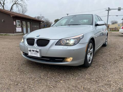 2008 BMW 5 Series for sale at Toy Box Auto Sales LLC in La Crosse WI