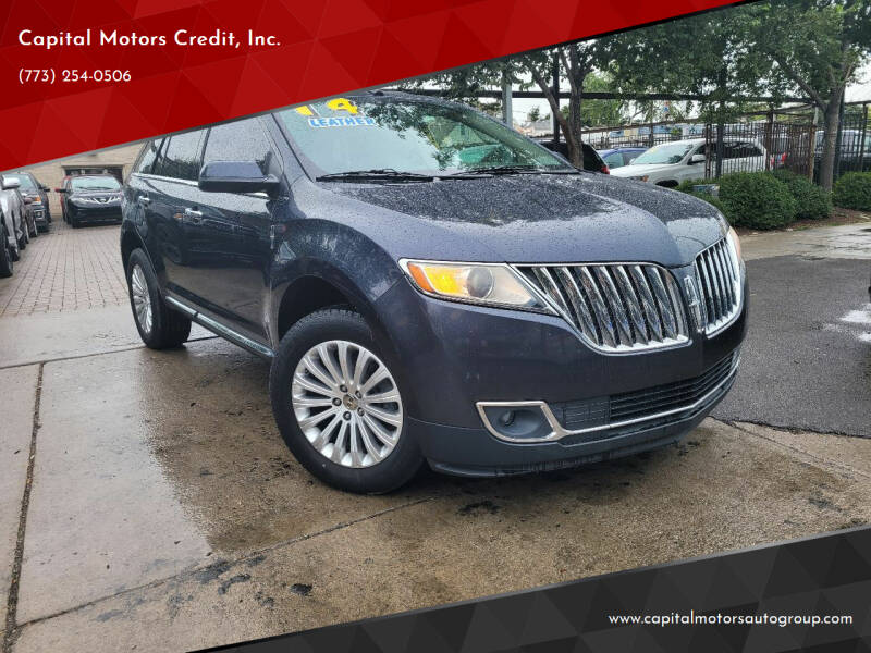 2014 Lincoln MKX for sale at Capital Motors Credit, Inc. in Chicago IL