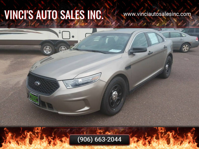 2014 Ford Taurus for sale at Vinci's Auto Sales Inc. in Bessemer MI