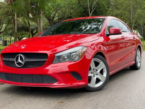 2017 Mercedes-Benz CLA for sale at HIGH PERFORMANCE MOTORS in Hollywood FL