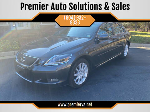 2007 Lexus GS 350 for sale at Premier Auto Solutions & Sales in Quinton VA