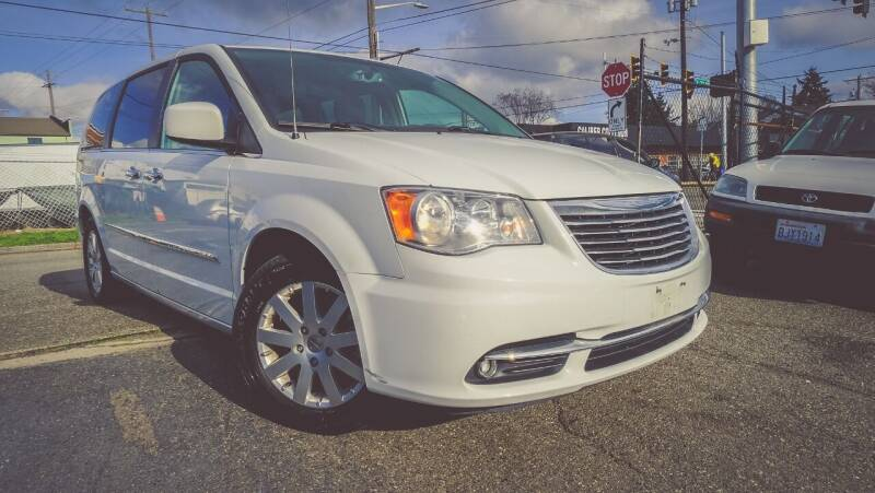 2016 Chrysler Town and Country for sale at Paisanos Chevrolane in Seattle WA