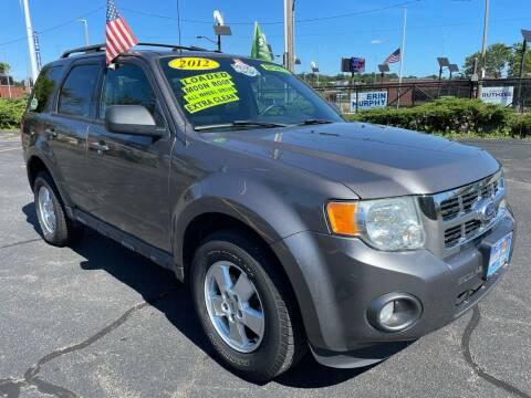 2012 Ford Escape for sale at Fields Corner Auto Sales in Boston MA