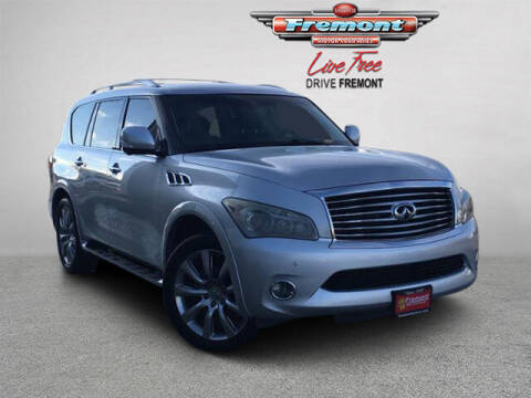 2013 Infiniti QX56 for sale at Rocky Mountain Commercial Trucks in Casper WY