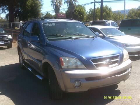 2006 Kia Sorento for sale at Mendocino Auto Auction in Ukiah CA