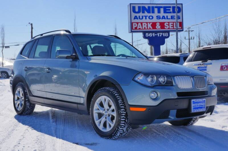 2009 BMW X3 for sale at United Auto Sales in Anchorage AK
