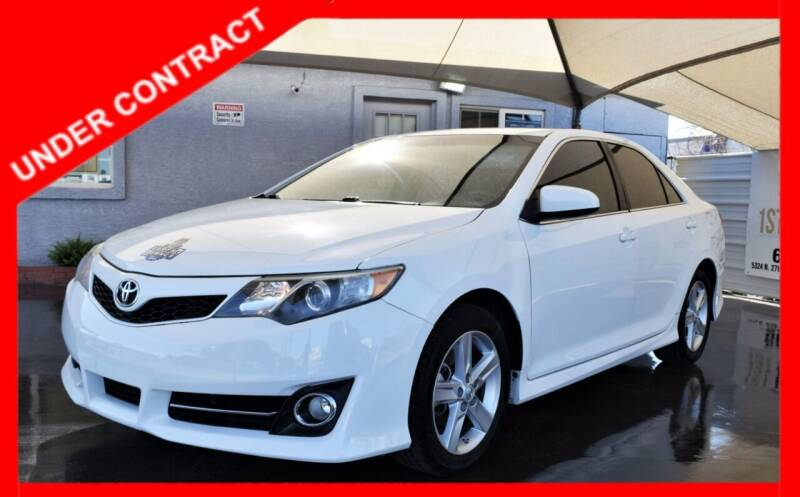 2014 Toyota Camry for sale at 1st Class Motors in Phoenix AZ
