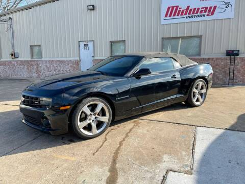2011 Chevrolet Camaro for sale at Midway Motors in Conway AR