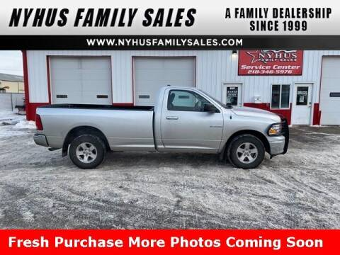 2010 Dodge Ram Pickup 1500 for sale at Nyhus Family Sales in Perham MN