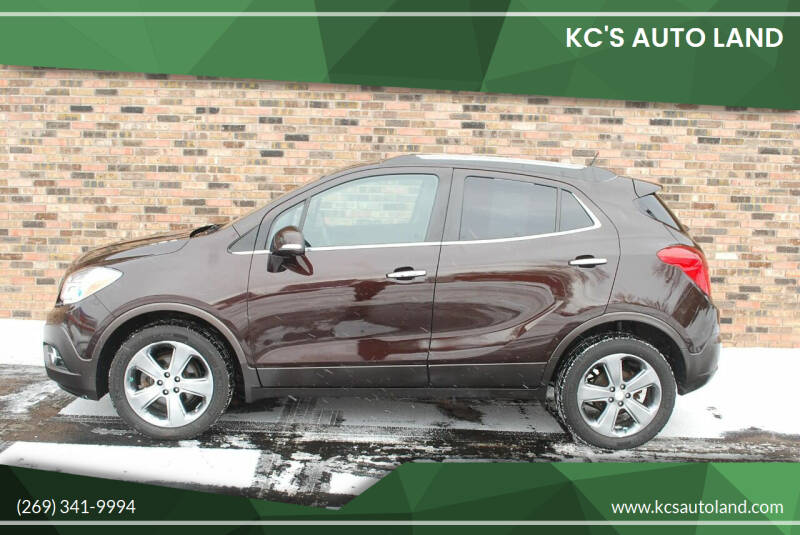 2014 Buick Encore for sale at KC'S Auto Land in Kalamazoo MI