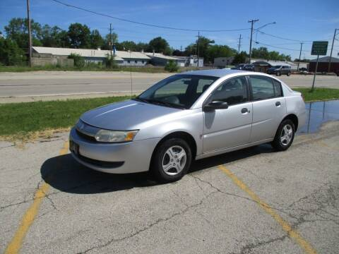 2003 Saturn Ion for sale at RJ Motors in Plano IL