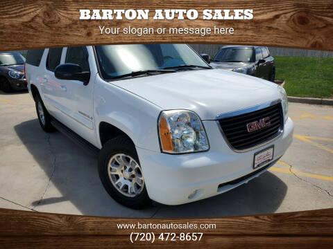 2007 GMC Yukon XL for sale at Barton Auto Sales in Frederick CO