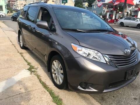 2016 Toyota Sienna for sale at White River Auto Sales in New Rochelle NY