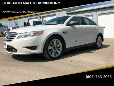 2010 Ford Taurus for sale at BERG AUTO MALL & TRUCKING INC in Beresford SD