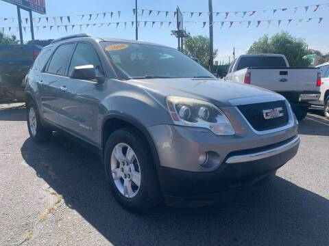 2008 GMC Acadia for sale at Lion's Auto INC in Denver CO