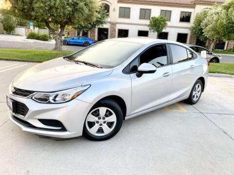 2018 Chevrolet Cruze for sale at Destination Motors in Temecula CA