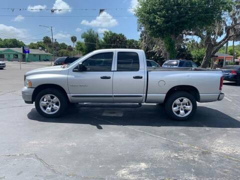 2002 Dodge Ram Pickup 1500 for sale at BSS AUTO SALES INC in Eustis FL