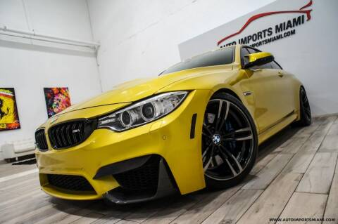 2016 BMW M4 for sale at AUTO IMPORTS MIAMI in Fort Lauderdale FL