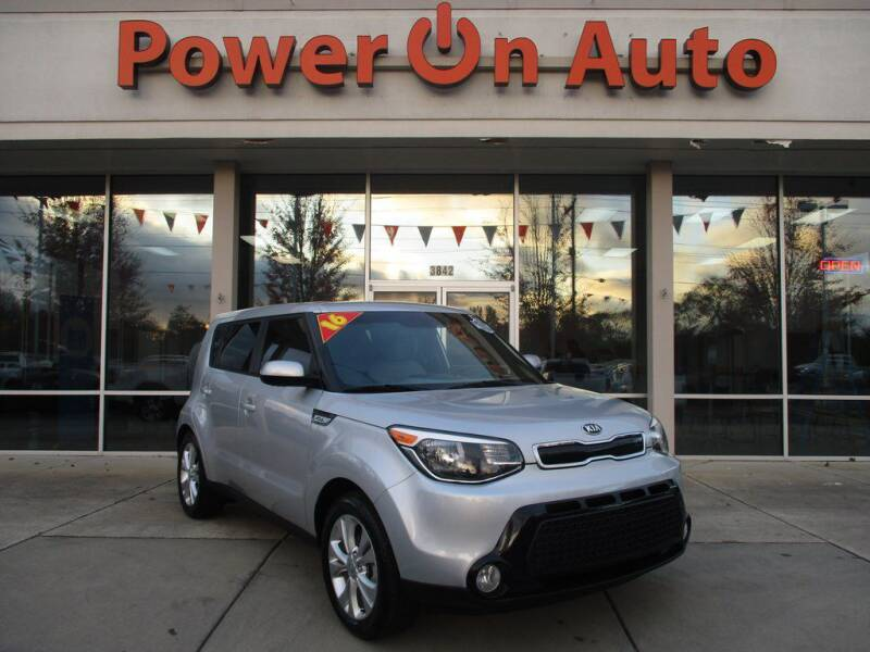 2016 Kia Soul for sale at Power On Auto LLC in Monroe NC