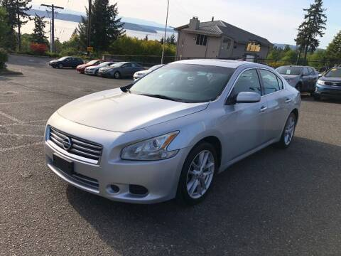 2014 Nissan Maxima for sale at KARMA AUTO SALES in Federal Way WA