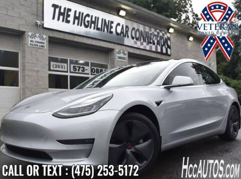 2018 Tesla Model 3 for sale at The Highline Car Connection in Waterbury CT