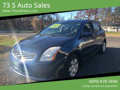 2012 Nissan Sentra for sale at 73 S Auto Sales in Hammonton NJ