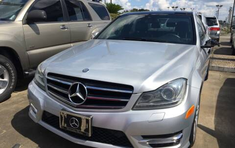 2013 Mercedes-Benz C-Class for sale at Bobby Lafleur Auto Sales in Lake Charles LA