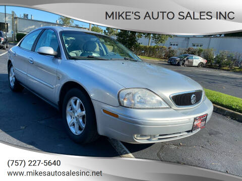 2000 Mercury Sable for sale at Mike's Auto Sales INC in Chesapeake VA
