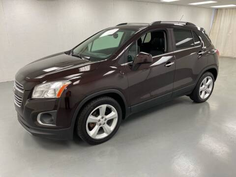 2016 Chevrolet Trax for sale at Kerns Ford Lincoln in Celina OH