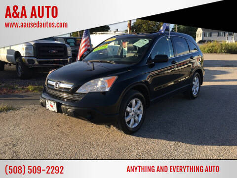 2009 Honda CR-V for sale at A&A AUTO in Fairhaven MA