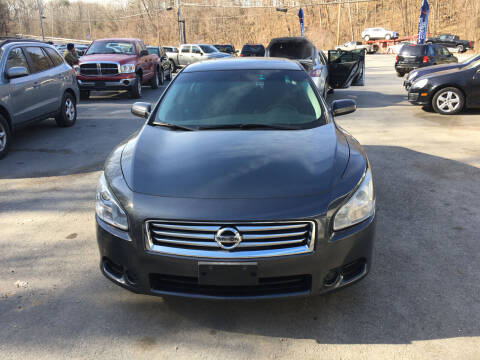 2013 Nissan Maxima for sale at Mikes Auto Center INC. in Poughkeepsie NY